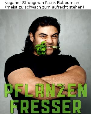 veganer Strongman Patrik Baboumian