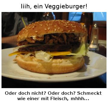 iiih ein veggieburger