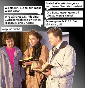 Zeugen des Schnitzels