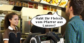 Bestellung Fleisch Pfarrer Lunow