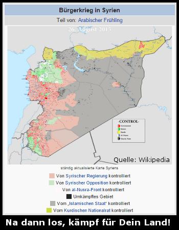 bürgerkireg syrien